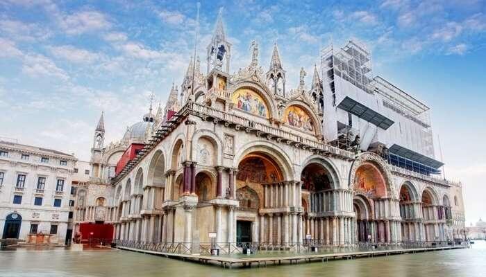 A glorious view Basilica di San Marco in Venice