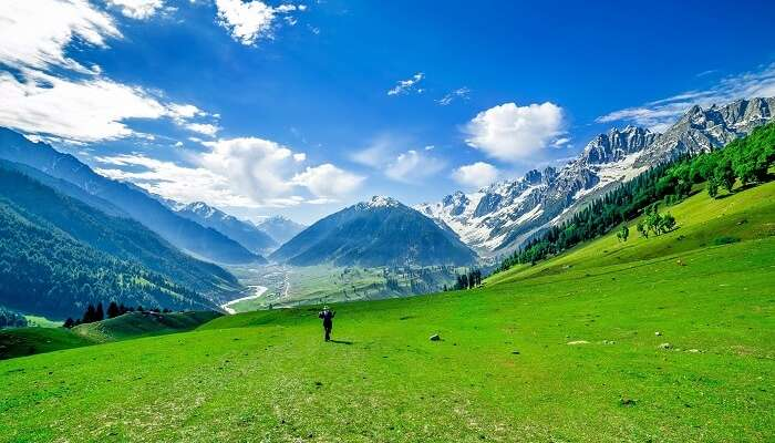 Natural paradise of Jammu and Kashmir