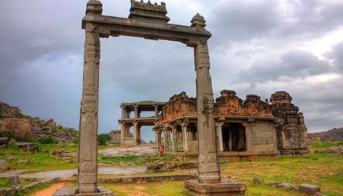 King's balance in Hampi is a must visit attraction