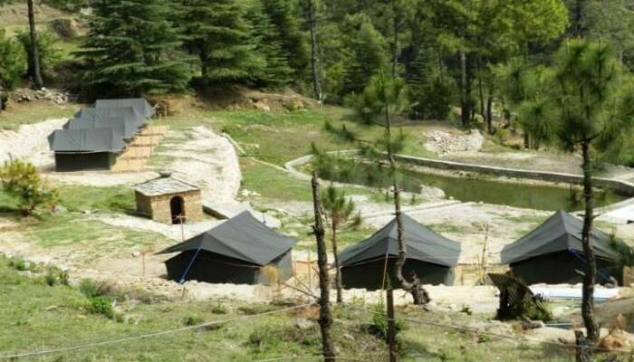 Camps in Kausani