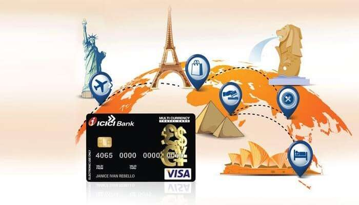 Icici forex multicurrency transactions withdrawl charges