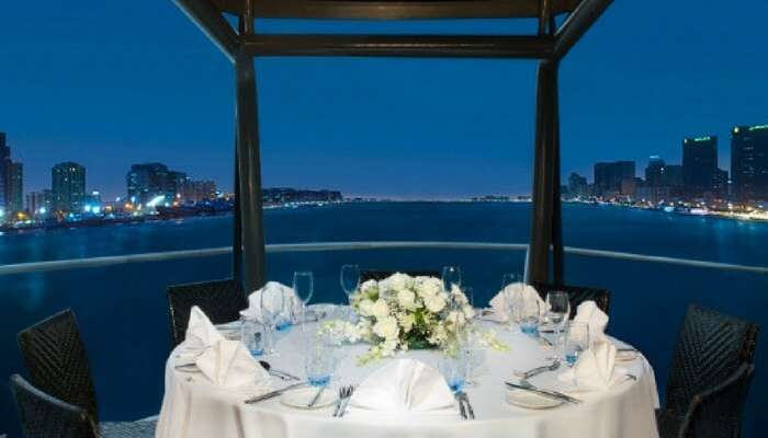 Romantic dinner cruise on The Bateaux in Dubai
