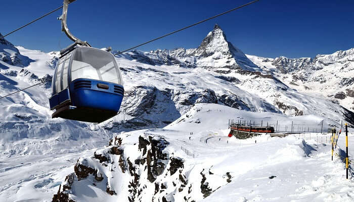 cable car ride matterhorn