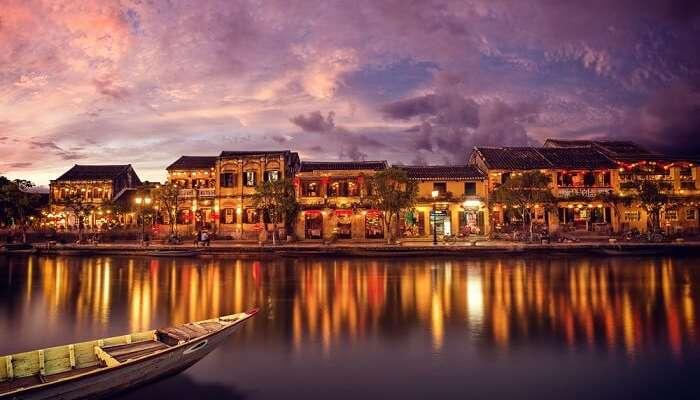 Hoi An City in Vietnam