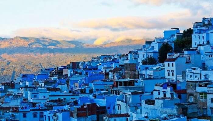 ville bleue maroc