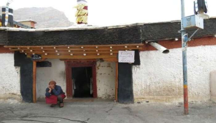 Rooms in Key Monastery in Himachal Pradesh