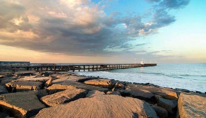 Promenade Beach of Pondicherry