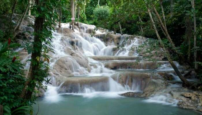 Mayfield waterfalls and mineral springs