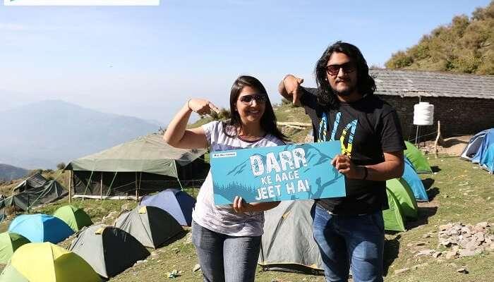 The campsite at Bir Billing