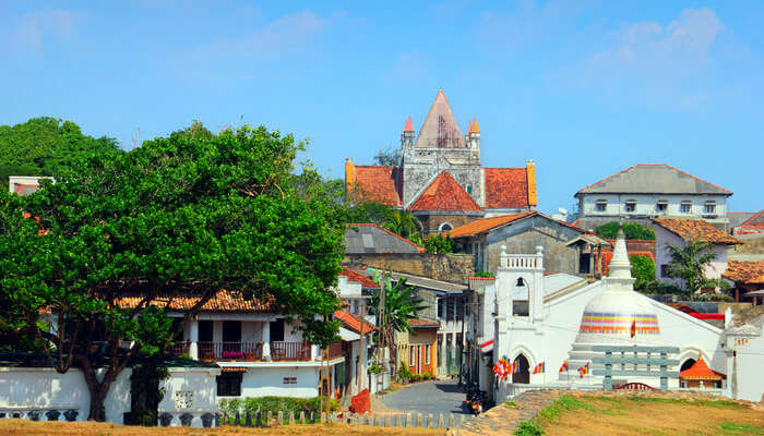 Portuguese architecture of Galle city
