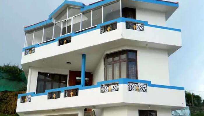 Full view of Krinith Cottage in Ooty