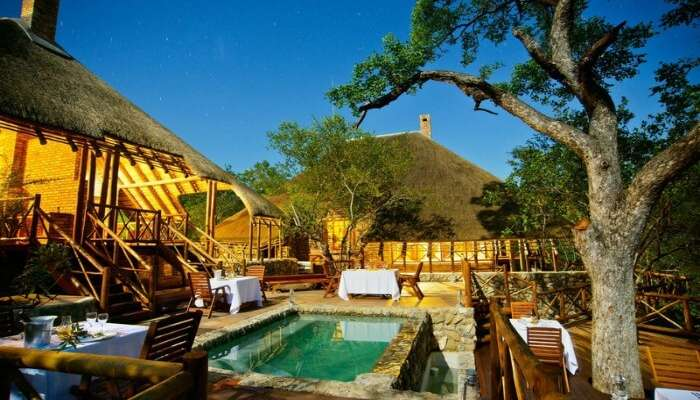 A lodge in Marula region of Kruger National Park
