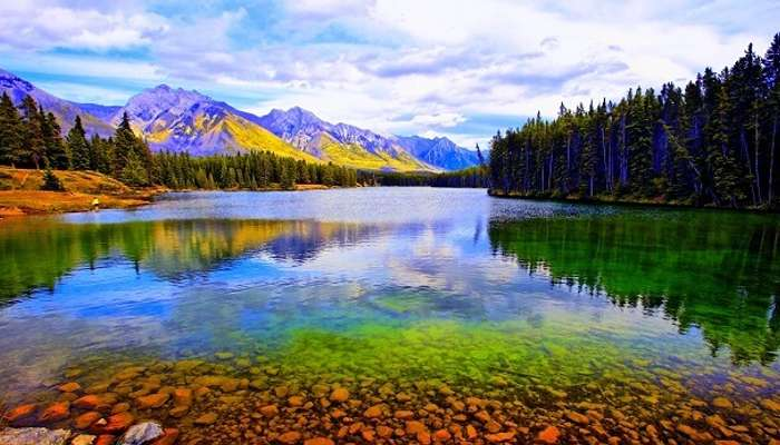 Beautiful Banff National Park Canada
