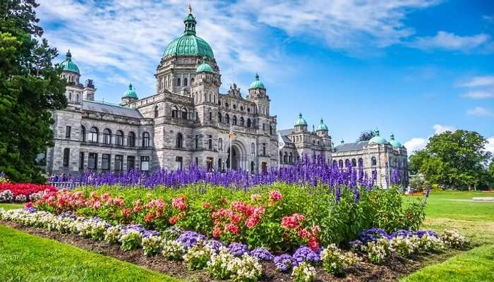 Beliebte Gärten in Kanada zu besuchen