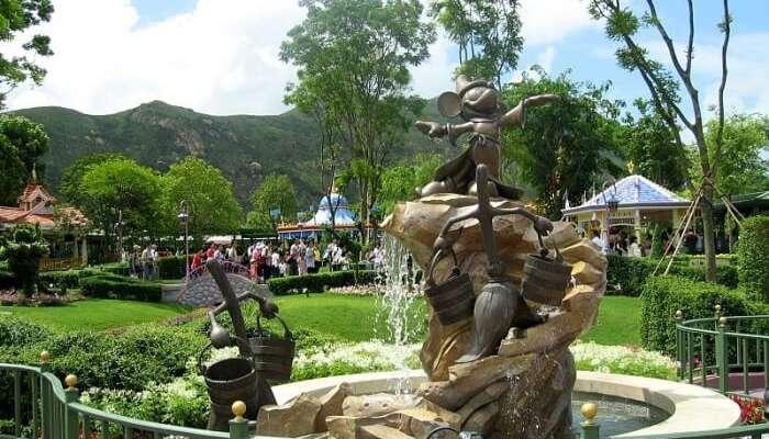 Fantasy Gardens View