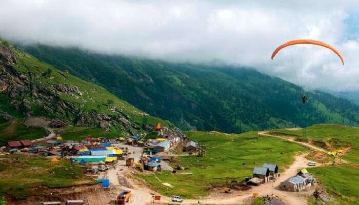 Paragliding In marhi