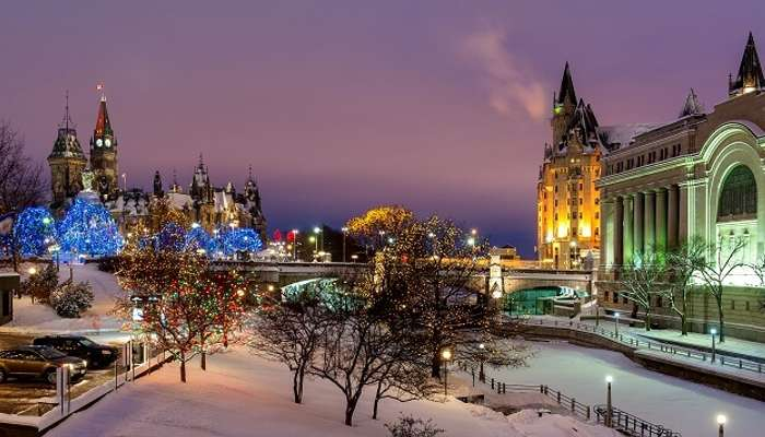Christmas In Calgary Canada.11 Most Astonishing Places To Visit In Canada In Winter 2019