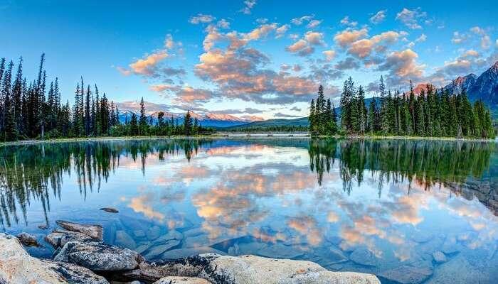 wunderschöne seen in kanada
