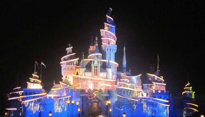 Disneyland View