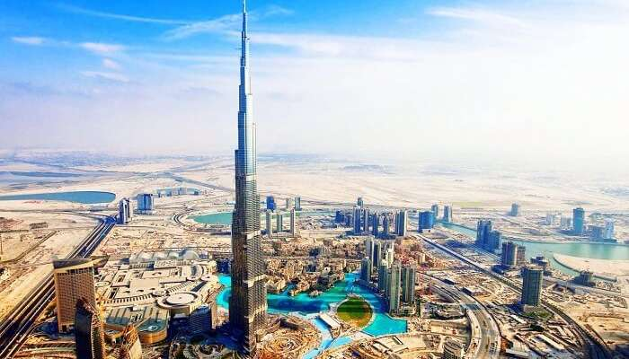 climb burj khalifa for awesome views