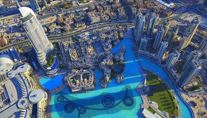 dubai's views from burj khalifa