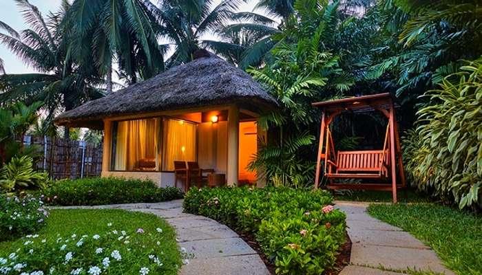 The garden villa cottage at the Great Mount Resort near Coimbatore