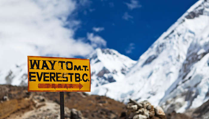 way to Everest Base Camp board