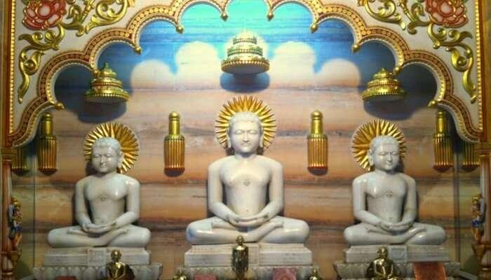 visit the 1008 Shri Adinath Digambar Jain Mandir in Goa