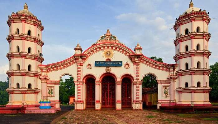 visit Bhagwati temple in Parsem