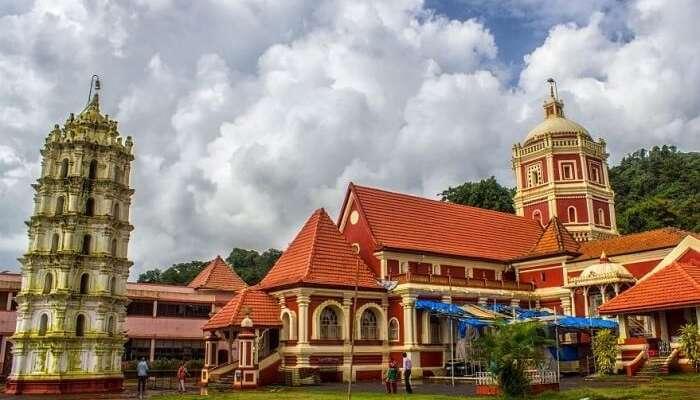 visit Shri Shantadurga Temple in goa