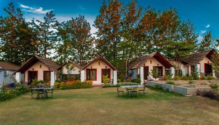 A view of cottages of Fern Ratan Villas in Mount Abu s