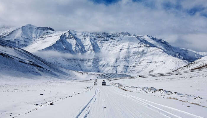 Kargil during Winter