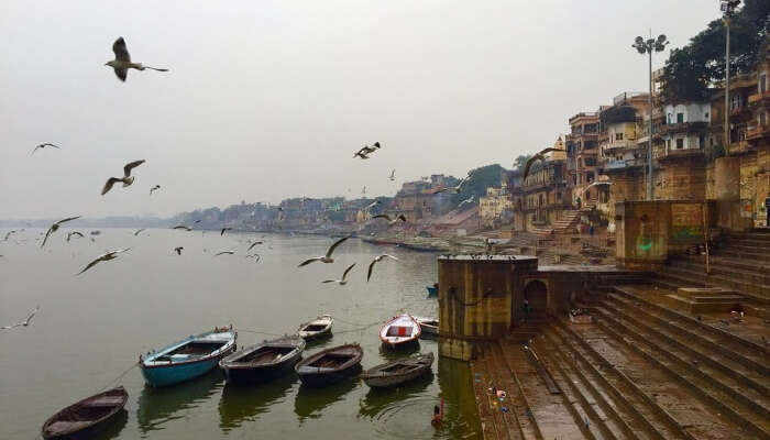 Varanasi Ganga View