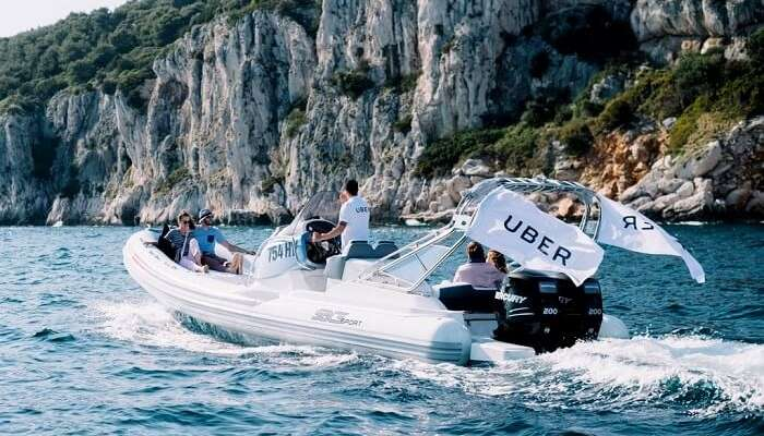 uberBOAT in Croatia