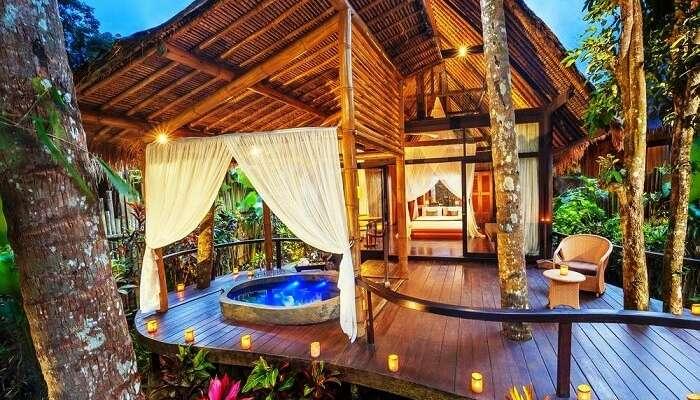 Puri Ahimsa, Fivelements, Bali
