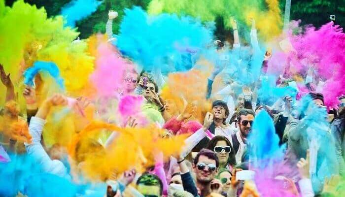 Image result for Zone by the Park Holi 2020 bangalore