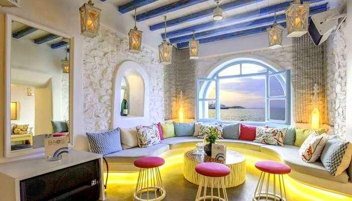 Bao's Cocktail Bar in Mykonos greece
