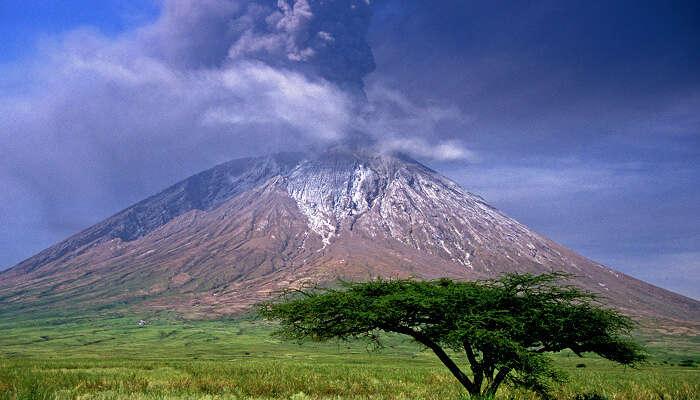 Volcano Ol Doinyo Lengai Tanzania
