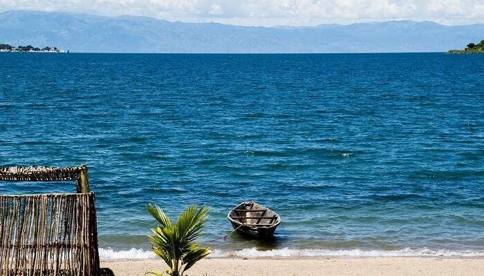View of Tanganyika Lake Tanzania