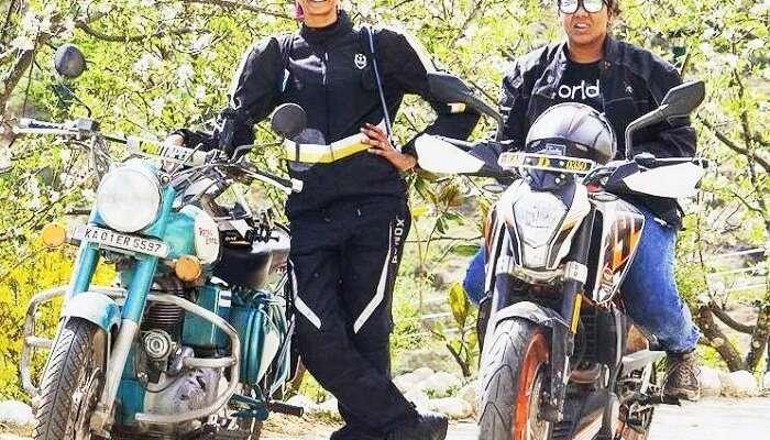 Two Women Cover 3,825 Kms From Kanyakumari To Leh