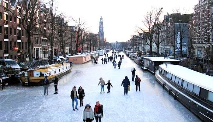 Temperature Drops In Amsterdam