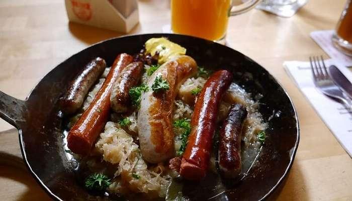 Choucroute Bratwurst