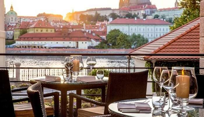 view from four seasons prague