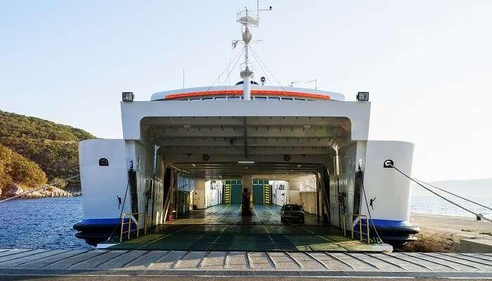 Ro-Ro Ferry Service From Mumbai to Alibaug