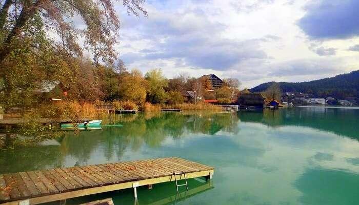 Faaker See lake austria