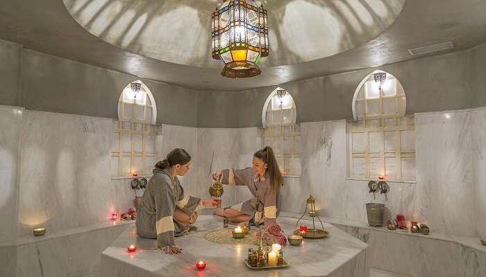 Indulge in a steam bath in athens