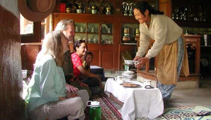enjoy a stay at Reeyork Homestay in ladakh