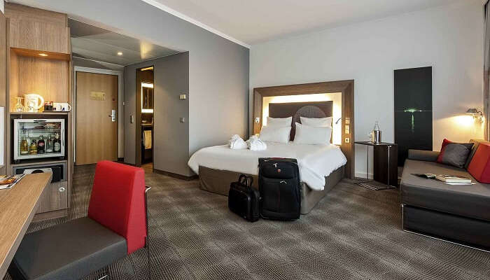 stay at Novotel Hannover germany