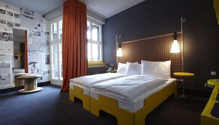 stay at Superbude Hotel, Hamburg germany