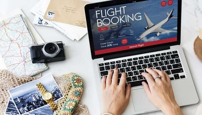 booking flight ticket